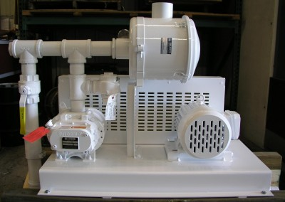 Inlet Filter Vacuum Hat Section w/Bypass