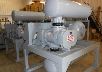 High Pressure Jack Shaft Driven Elevated Tubular Base Packages