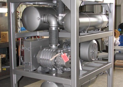 Double Stacked Tubular Base Steel-It Sanitary Pressure Packages