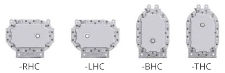 universal foot diagram -RHC -LHC -BHC -THC